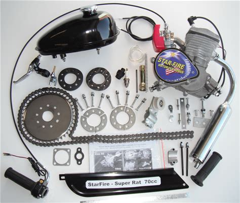 starfire motors bike engine starfire kit iii gt5 rat
