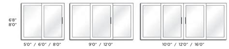 Standard Patio Door Dimensions Standard Sliding Door Width