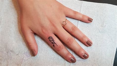 what does your skin look like after tattoo removal 15 finger tattoos you should get right now cosmo ph