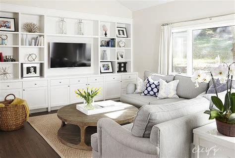 pictures of family rooms with sectionals dove gray sectional transitional living room