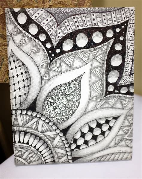 draw doodle decorate zentangle