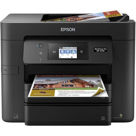 Printer Epson Plus Fotocopy epson workforce pro wf 4730 all in one inkjet printer c11cg01201
