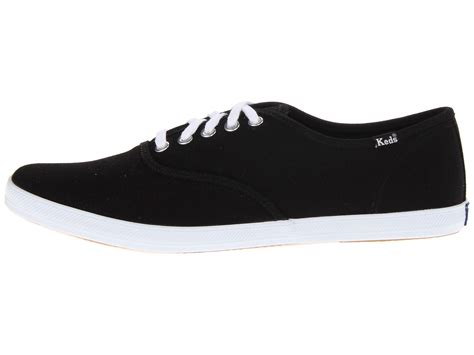 Keds Black White 1 keds chion cvo in black for black white lyst