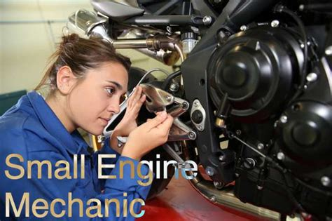 Small Motor Mechanic by Different Types Of Mechanics Careers Diesel Mechanic Guide