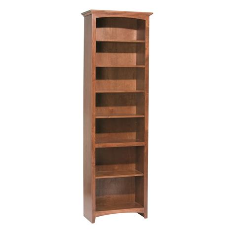 Wide Bookshelf Whittier Wood Bookcase Collection 24 Quot Wide