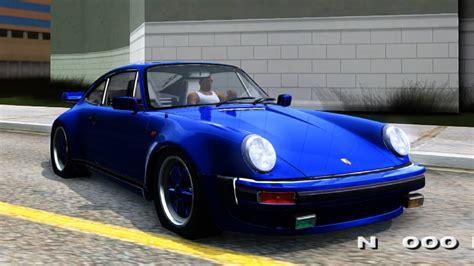 porsche 911 turbo 80s porsche 911 turbo 3 3 coupe 930 1986 gta san andreas