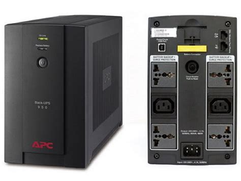 Ups Apc Bx800li 950va ups apc bx950u ms 950va 480w interactivo 220v avr 2