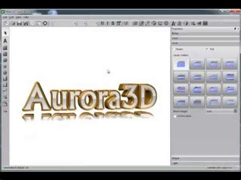 text creator aurora  text logo maker youtube