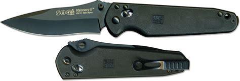 spyderco vs sog sog knives sog visionary ii knife sg vs02
