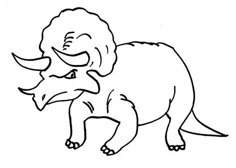 drawing and coloring pictures of dinosaurs