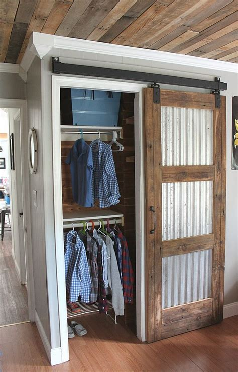 Barn Doors For Closets Best 20 Closet Barn Doors Ideas On Pinterest A Barn Wood Sliding Closet Doors And