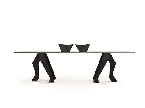 rectangular table bellaforza by gufram design
