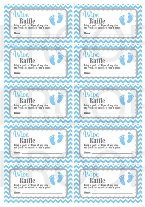 free printable raffle tickets for baby shower wipe raffle tickets printable baby shower raffle tickets