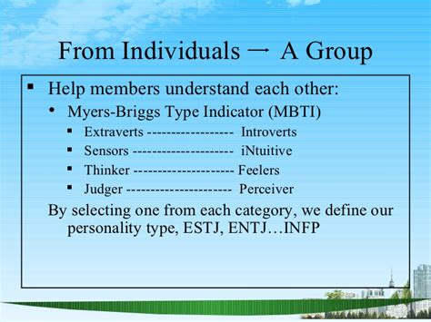 Types Of Mba Concentrations by Team Building Ppt Mba 2009