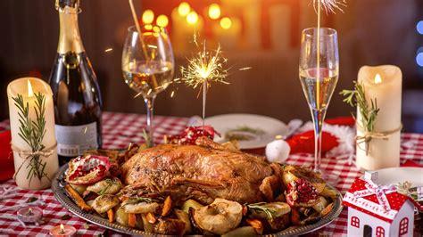 christmas buffets anaheim 2018 fonds d ecran 1920x1080 nouvel an jour f 233 ri 233 s de la table poulet r 244 ti chagne bougies