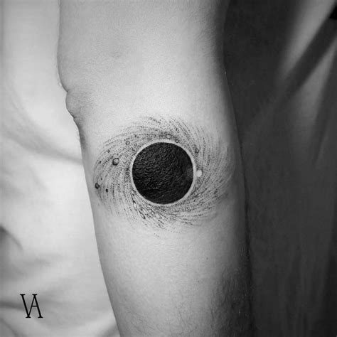 small astronomy tattoos that are out of this world