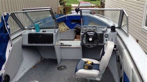 aluminum fishing boat remodel aluminum boat deep v hull restoration modification part 2