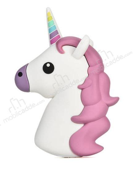 Powerbank Unicorn 8000 Mah mili unicorn 2600 mah powerbank beyaz yedek batarya