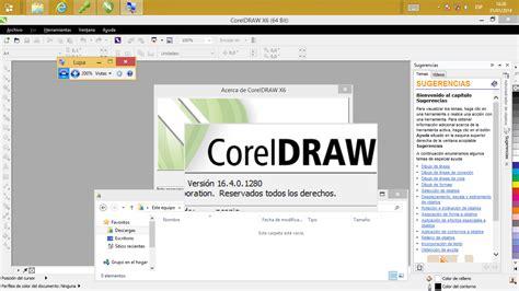 corel draw x6 gratis para windows 8 computacion reparacion mantenimiento y mucho m 193 s
