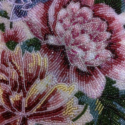 how to do bead embroidery glass bead embroidery ideas