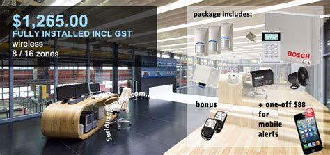 warehouse factory security package complete alarms sydney warehouse security cctv serious security sydney