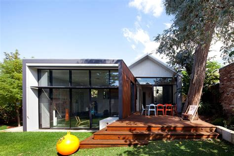 modern traditional house heritage listed venue with modern additions in maylands