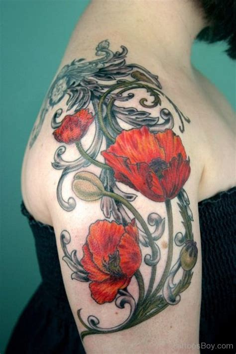poppy tattoo tattoo designs tattoo pictures page 13