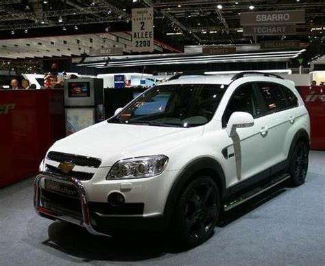 chevrolet captiva modified captiva chevrolet captiva tuning suv tuning