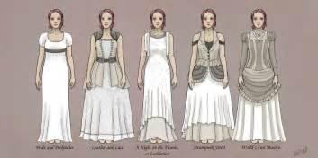steampunk wedding dresses by ashleykayley on deviantart