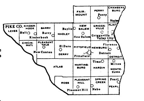 Pike County Records Pike County Illinois Maps And Gazetteers