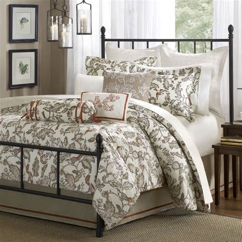 country bed comforter sets harbor house country garden comforter set traditional