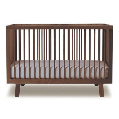 Free Crib Mattress Free Mattress With Oeuf Sparrow Crib Walnut Modernnursery