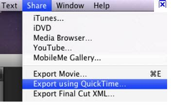 dvd format file type what is the file extension for a movie export with quicktime