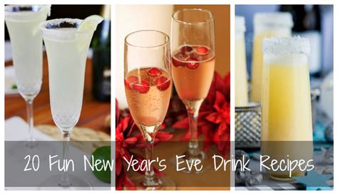 new year drink ideas 20 new year s drink recipes