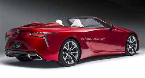 lexus lc roadster rear