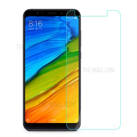 Tempered Glass Screen Guard Redmi 5 Plus 0 25mm tempered glass screen protector shield for
