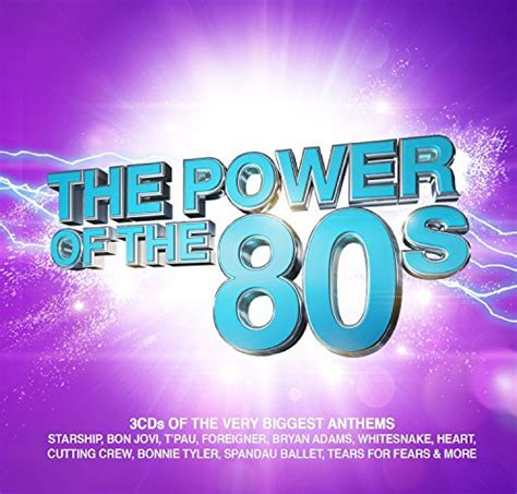 Cd Va The Power Of 2 Cd the power of the 80s cd covers
