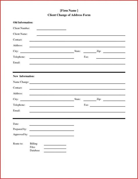 address change form template change of address form template absolute representation