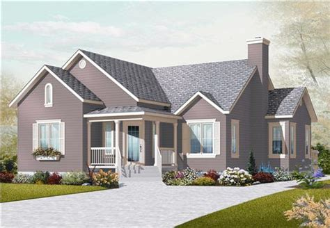 Small Country House by Small Country House Plans Home Design 3133