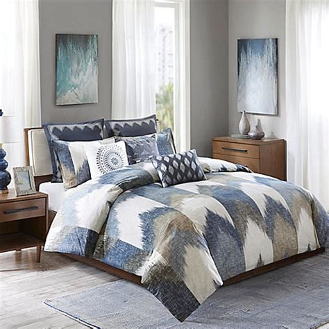 ivy comforter set ink ivy alpine comforter set bed bath beyond