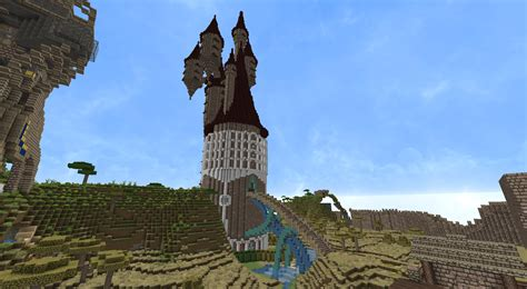 Really Cool Houses wizard tower minecraft