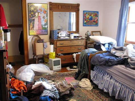 cluttered bedroom clutter doesn t matter really snowbird of paradise