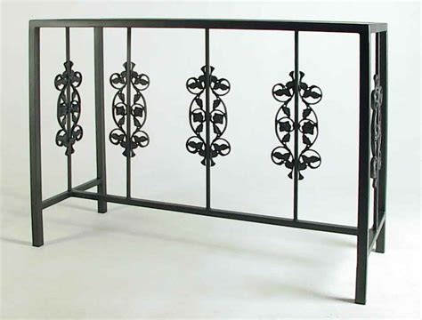 buffet tables wrought iron tables