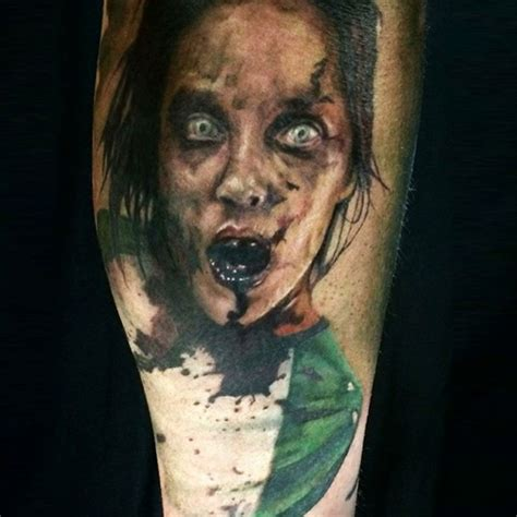 zombie bite tattoo designs tattoos