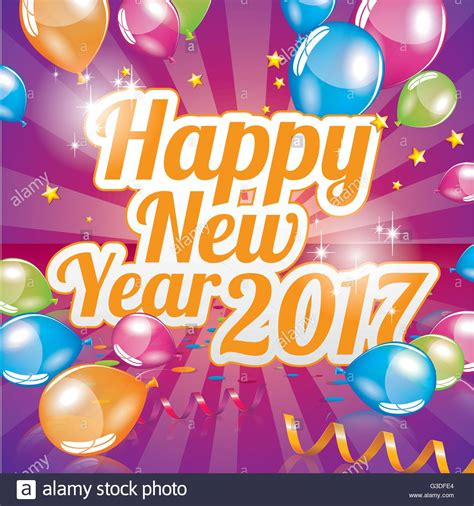 new year greetings ram happy new year 2017 greeting card vector stock vector