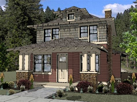 new american foursquare house plans arts with new