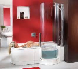 badewannen mit duscheinstieg dusche und badewanne behindertengerecht kombiniert
