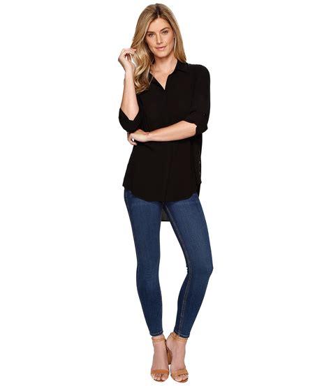 Sleeve Side Button Shirt s shirts tops tribal black sleeve shirt w