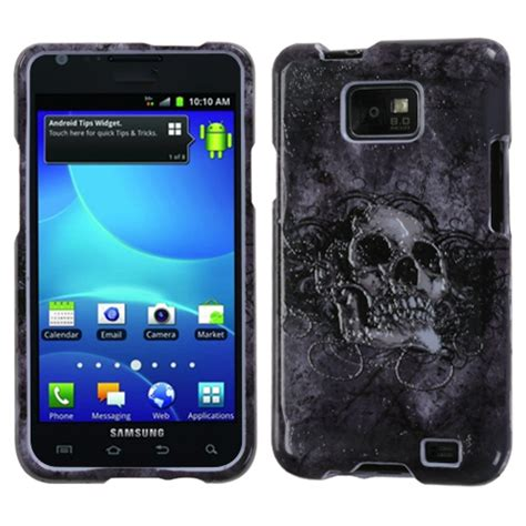 Skulls Illusion For Samsung Galaxy S2 I9100 for samsung galaxy s2 i9100 design snap on phone cover ebay