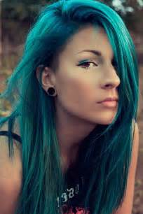 teal color hair teal hair with side bangs hair and updos